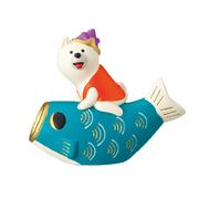 デコレ コンコンブル 2019 新作 五月飾り 鯉のぼりわんこ こいのぼり 犬 いぬ ZTS-59927 クリックポスト不可