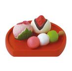 デコレ お花見 桜和菓子盆 コンコンブル ZSA-59135 桜 和菓子 クリックポスト対応
